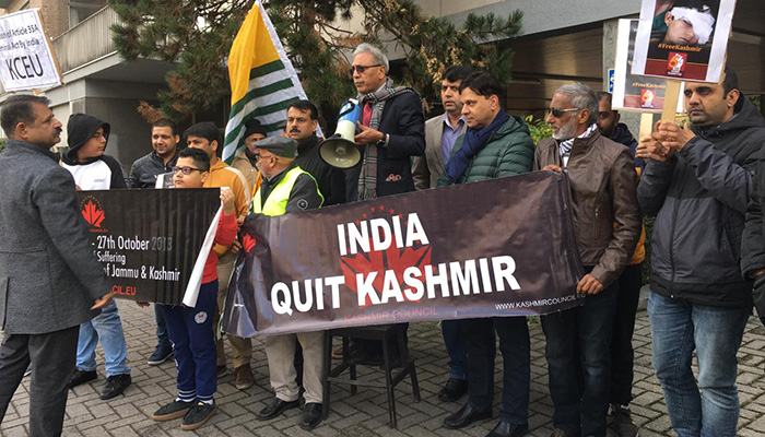 Kashmiri community in Brussels calls for end to Indian occupation ...