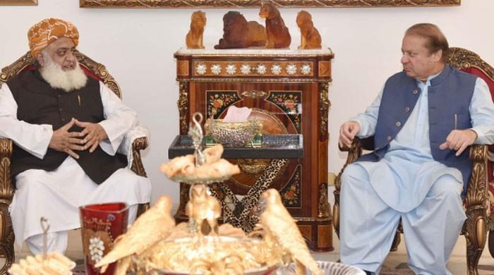 Fazl fails to convince Nawaz to attend APC
