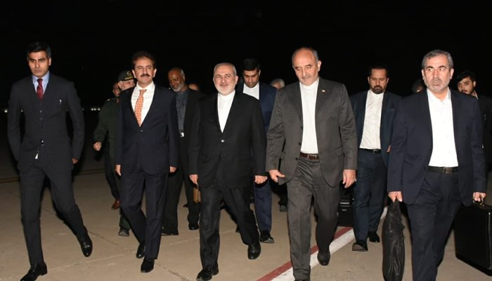 Irans Zarif in Pakistan for second visit during PTI government