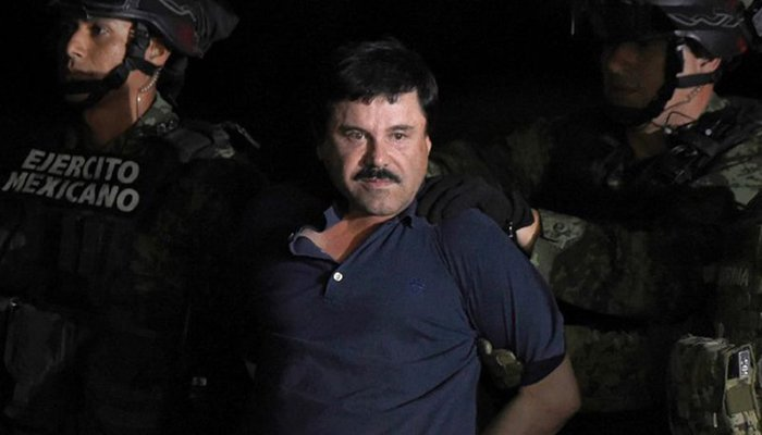 El Chapo faces biggest US drugs trial