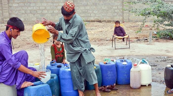 Thirst of Karachi