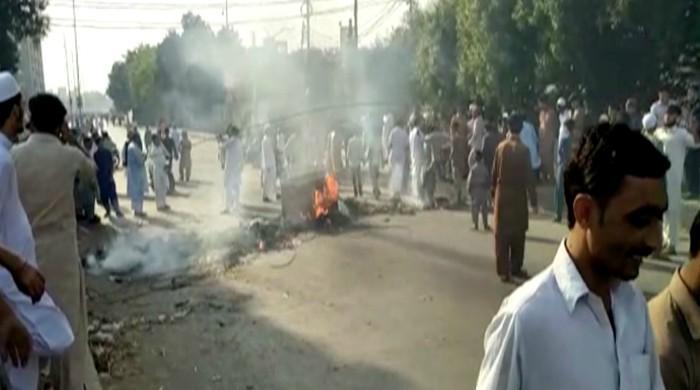 PM briefed on TLP protests, progress on arrests