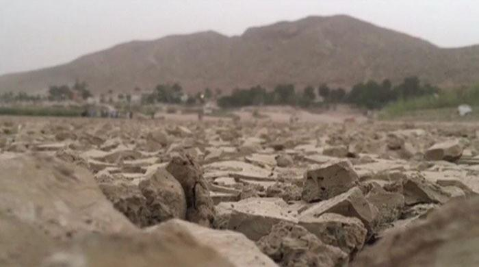 The drought in Balochistan