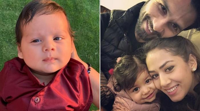 Shahid Kapoor, Mira Rajput debut baby Zain's picture