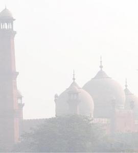 In pictures: Smog chokes Punjab