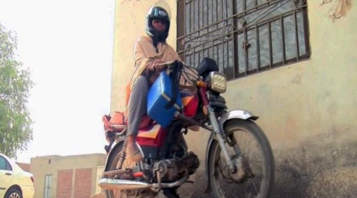 The motorcycle-riding lady health workers of Multan