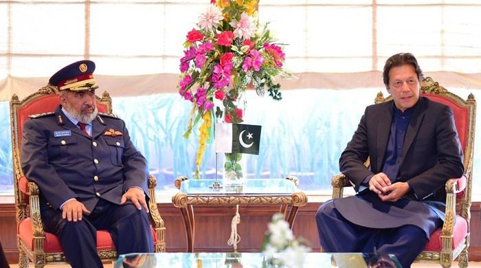 Qatari armed forces chief discusses bilateral ties with PM Khan