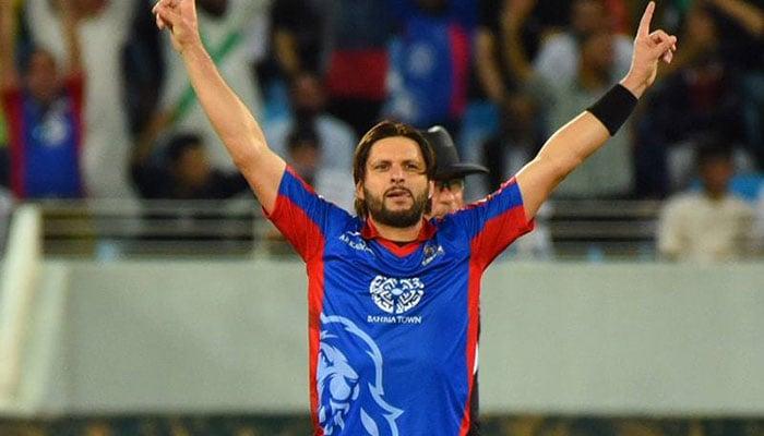 Image result for PSL 2019 Shahid Afridi leaves Karachi Kings