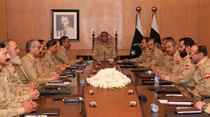 Corps Commanders review geo-strategic environment, security situation