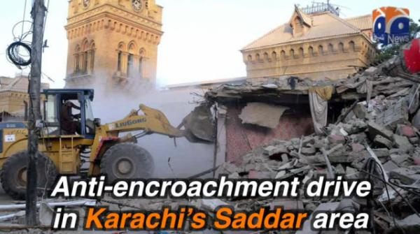 Cleanup starts in Karachi's Empress Market after anti-encroachment drive