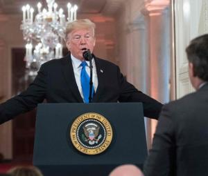 CNN sues over barring of reporter, White House vows vigorous defence