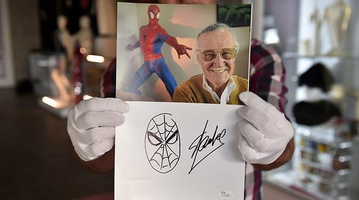 'Excelsior,' Stan Lee!
