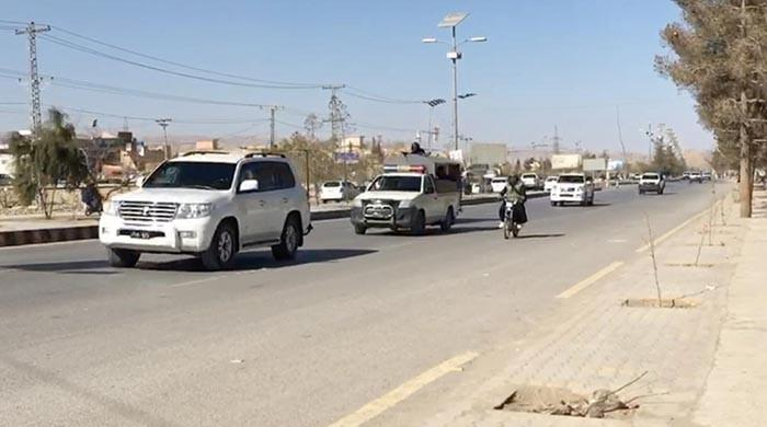 President Alvi's visit to Quetta leads to traffic jams
