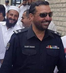 The abduction and murder of SP Tahir Dawar