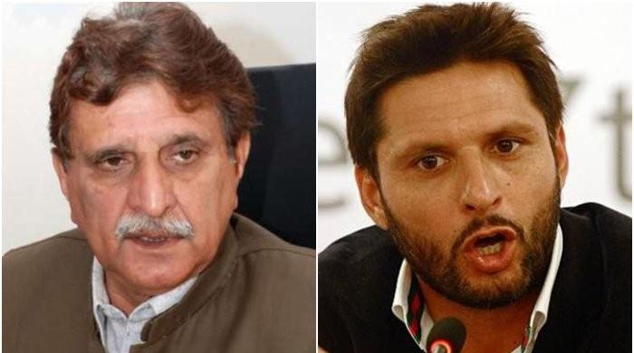 AJK PM slams Afridi over controversial remarks on Kashmir