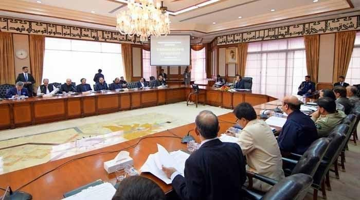 PM chairs cabinet meeting to deliberate upon political, economic situation