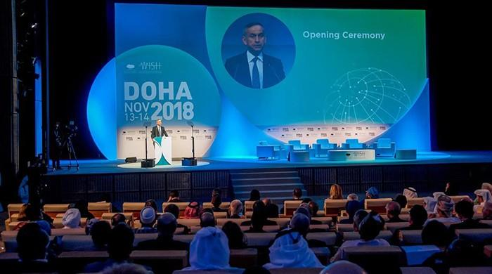 Global leaders attend health summit in Doha