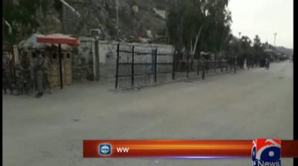 Pakistani officials reach Torkham border to receive SP Dawar's body