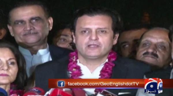 PTI's Waleed Iqbal, Seemi Aizdi win Senate by-election