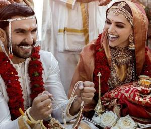 Deepika and Ranveer share pictures of their wedding