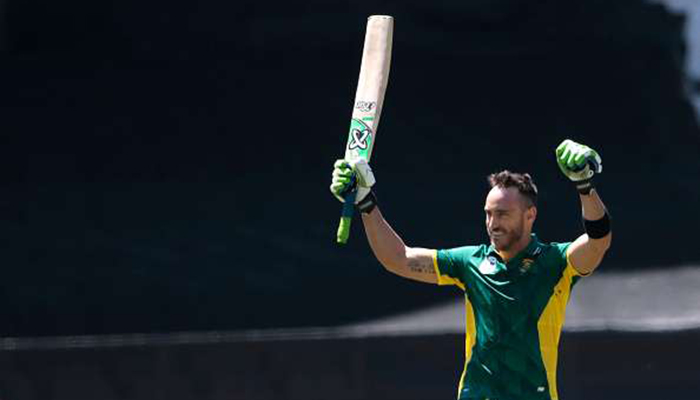 Du Plessis likely to draw curtains on T20I career post WC