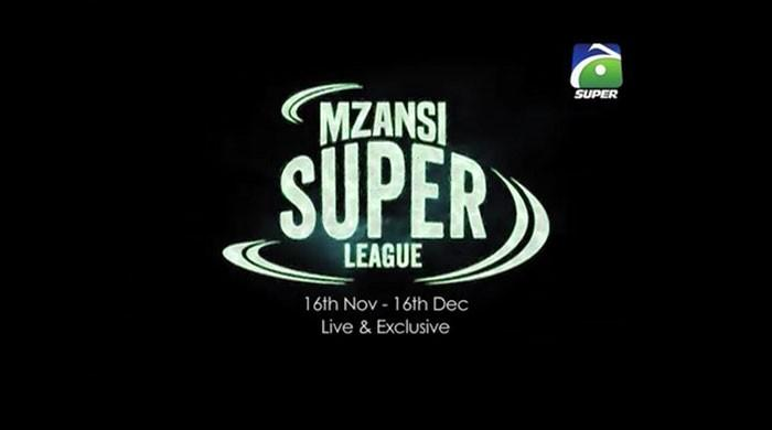 Geo Super to telecast all matches of Mzansi Super League 2018
