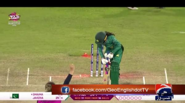 Pakistan out of Women's World T20 after defeat to New Zealand