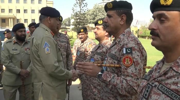 COAS says security environment of Karachi will be further improved