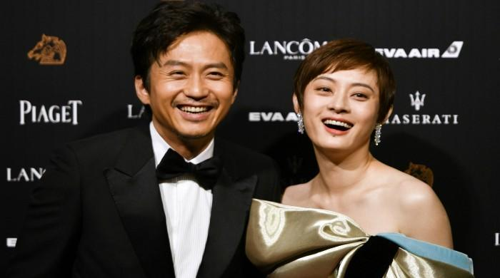 Stars gather for Chinese 'Oscars' in Taiwan