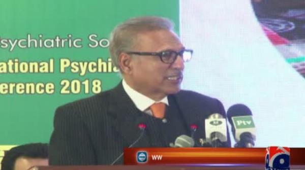 President Alvi talks about the time a saint told him he'll win the election