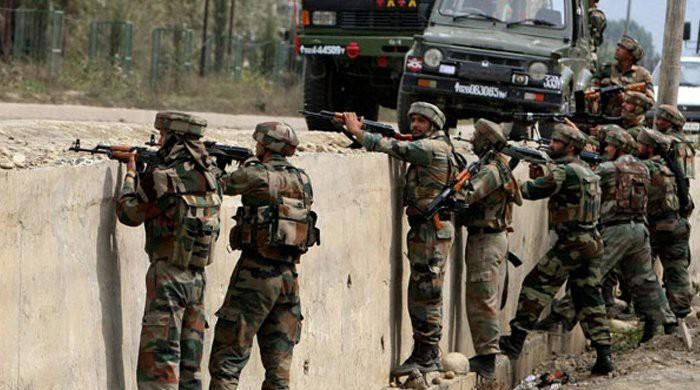 Indian troops martyr two youth in IoK's Shopian district