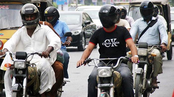 Rawalpindi to stop refuelling motorcyclists without helmets