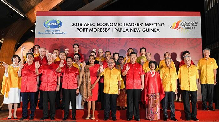 APEC leaders divided after US, China spat