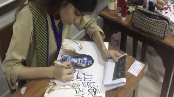 Painting brilliance at Karachi art competition