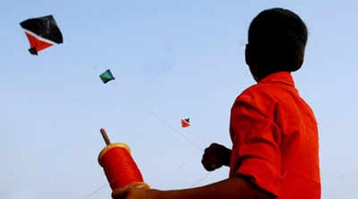 Child in Karachi dies as kite string slits his throat