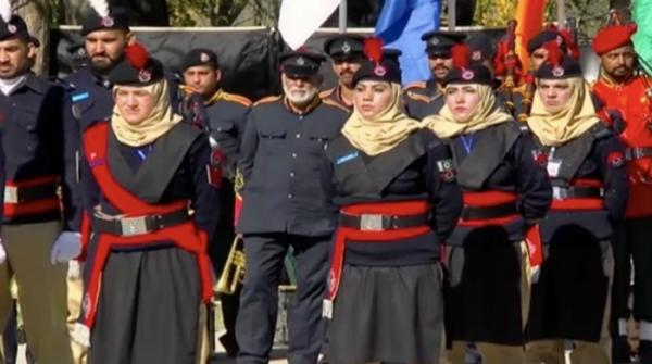 Passing-out parade of 235 recruits at Police Training School in Swat