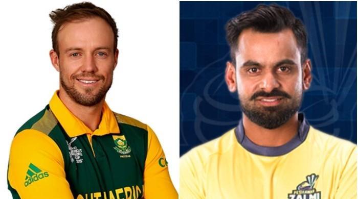PSL draft under way: Qalandars pick de Villiers, Hafeez