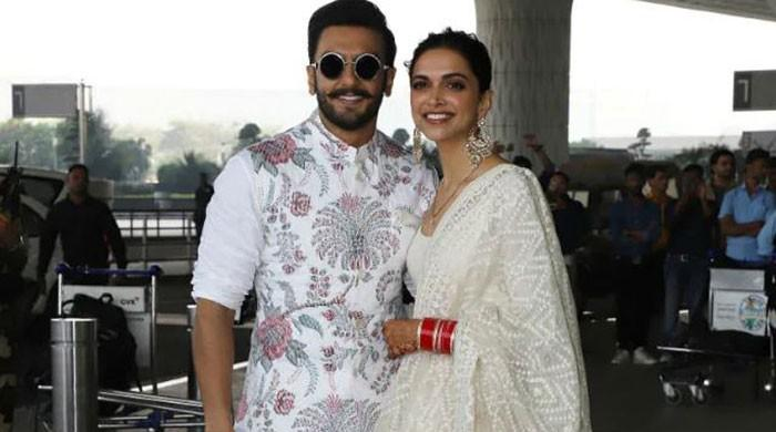 Deepika, Ranveer twin in white ahead of Bangalore reception