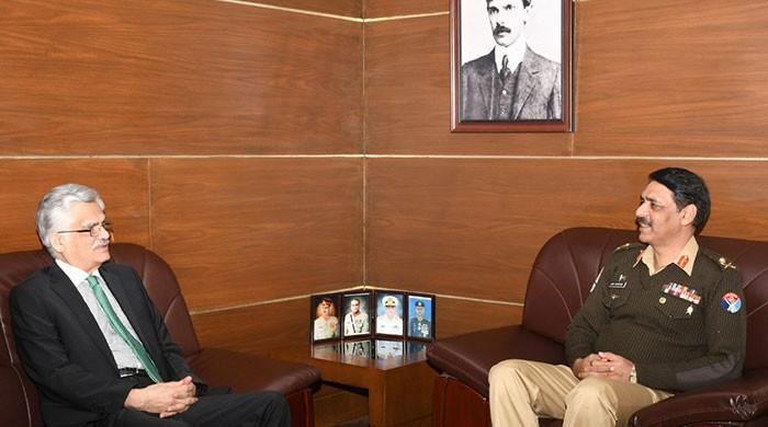 PEMRA chairman, DG ISPR discuss facilitating media to project positive Pakistan image