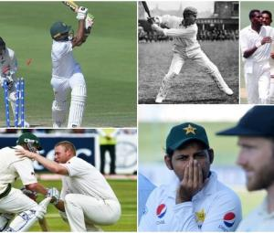 Five narrowest wins in terms of runs in Test cricket