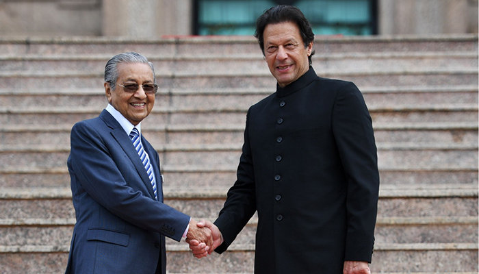 Image result for mahathir and imran khan