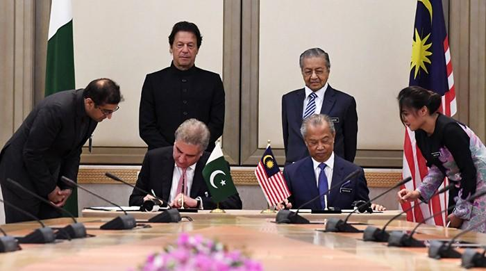 Pakistan, Malaysia sign agreement to partially abolish visa