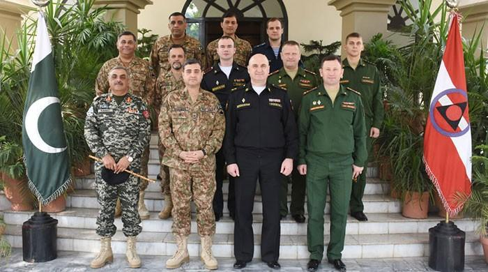 Russian military delegation briefed on Pak Army's campaign against terrorism