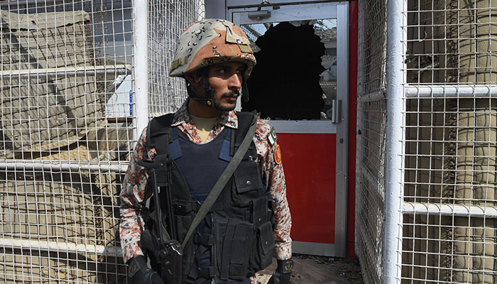 Two policemen martyred in firing near Chinese consulate