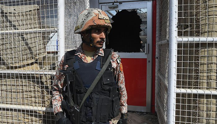 Two killed as gunmen attack Chinese consulate in Karachi