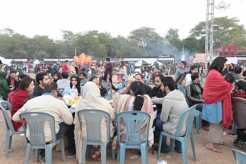 Photo courtesy Islamabad Eat 2018. —http://fb.com/IslamabadEatFoodFestival