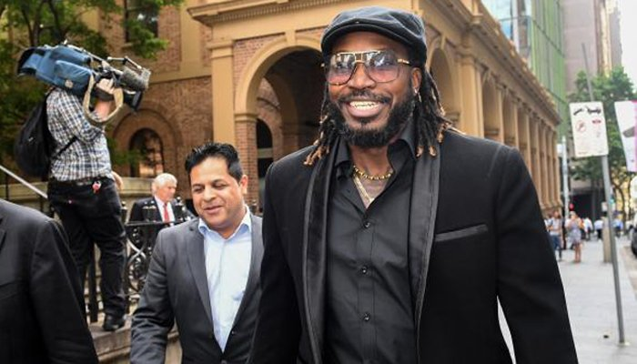 Gayle wins AUD 300,000 in damages in defamation suit