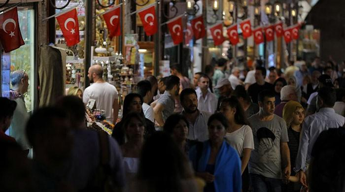 Turkey inflation drops from 15-year high