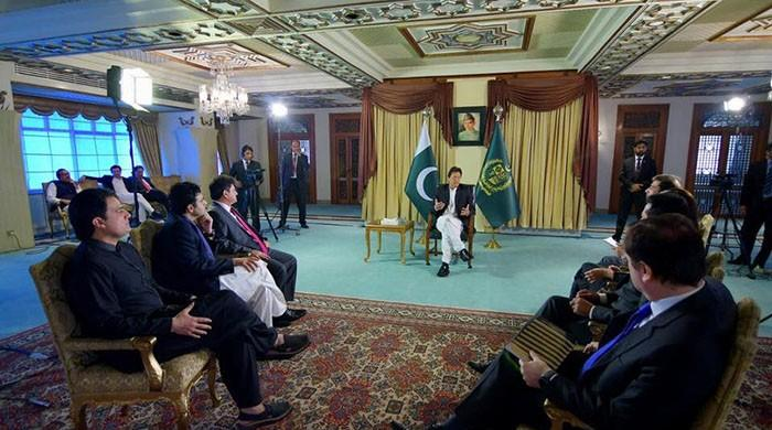 'Govt, military on same page': PM says all decisions made by him