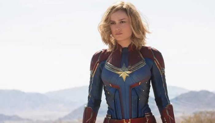 New Eye-Popping 'Captain Marvel' Poster Released Ahead of Second Trailer